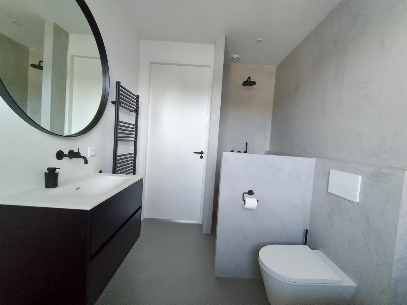 Ongebruikt Beton ciré badkamer Ede • Stuctuur QH-94